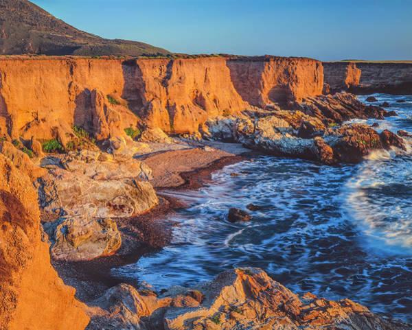 Wall Art - Photograph - California Coastline At Montana De Oro by Ron thomas