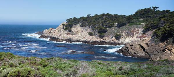 Monterey Bay Photograph - California Coastline by Jgareri