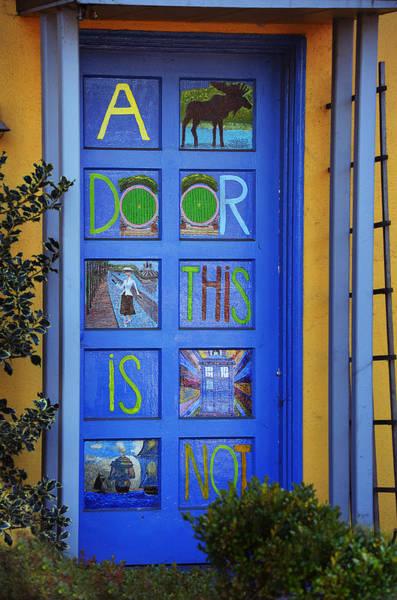 Photograph - California Door Collection 3 by Xueling Zou