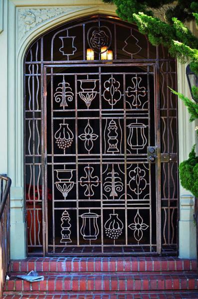 Photograph - California Door Collection 4 by Xueling Zou