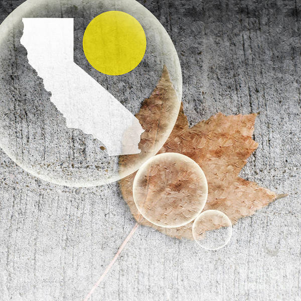 Mixed Media - California Dreaming 2 by Andee Design