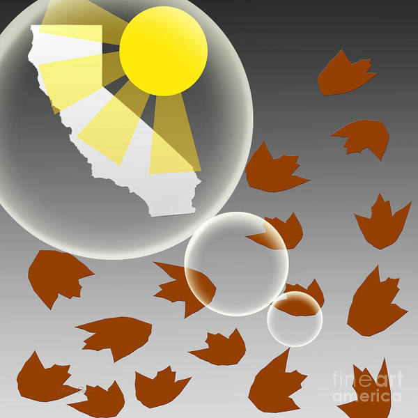 Digital Art - California Dreaming by Andee Design