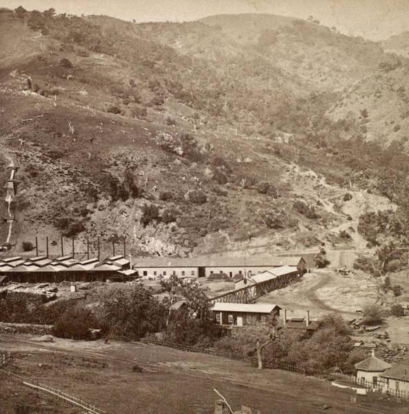 Photograph - California Gold Mine by Granger