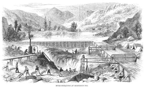 Photograph - California Gold Rush by Granger