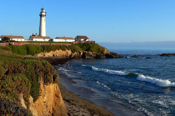 Photograph - California Lighthouse by Jeff Lowe