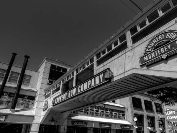 Photograph - California - Monterey - Cannery Row 001 by Lance Vaughn