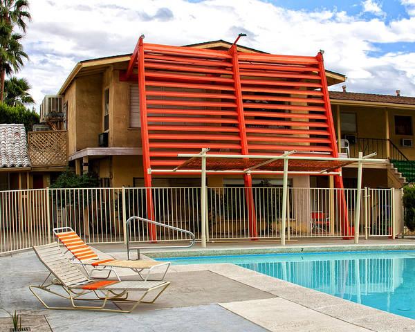 Wall Art - Photograph - California Orange Palm Springs by William Dey