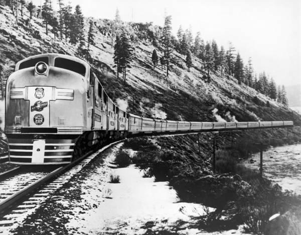 Wall Art - Photograph - California Railroad, 1939 by Granger