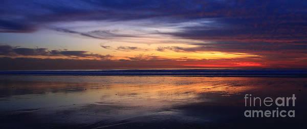 Photograph - Cardiff Twilight Reflections by John F Tsumas