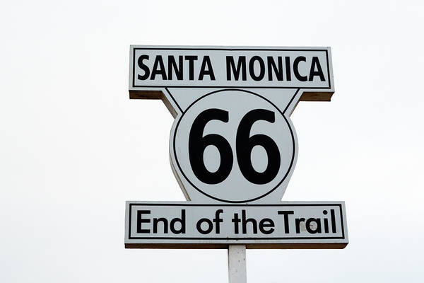 Route 66 Wall Art - Photograph - California Route 66, 2012 by Granger