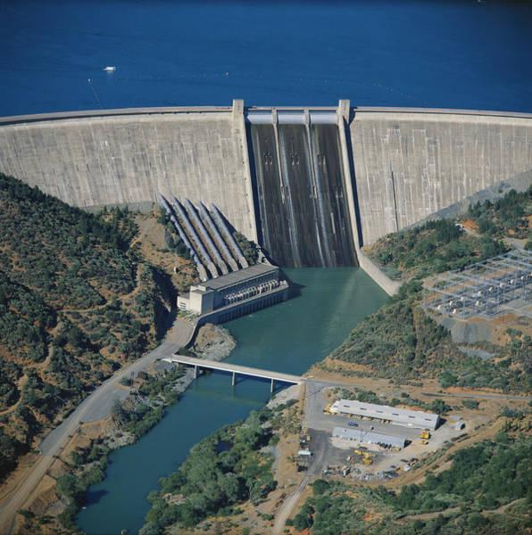 Wall Art - Photograph - California, Shasta Dam by Bill W. Marsh