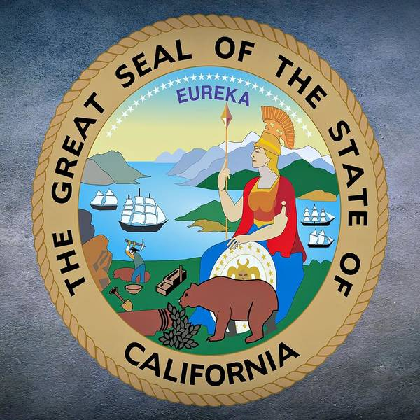 Digital Art - California State Seal by Movie Poster Prints