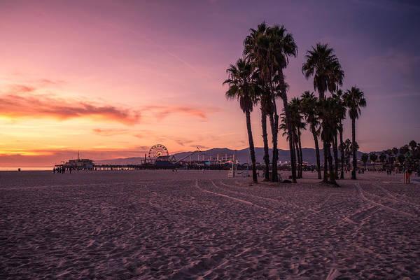 California Sunset At The Beach Art Print by Dennis Fischer Photography
