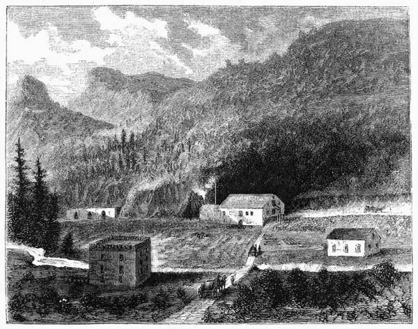 Wall Art - Painting - California Vineyard, 1864 by Granger