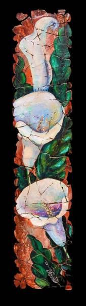 Painting - Calla Fresco by OLena Art - Lena Owens