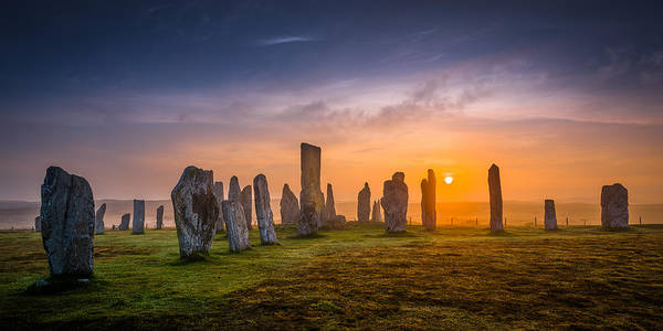 Photograph - Callanish Dawn by Peter OReilly
