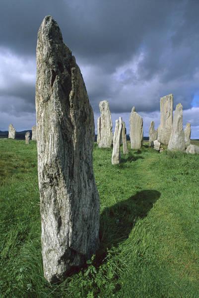 Dixon Photograph - Callanish Standing Stones Isle Of Lewis by Grant  Dixon