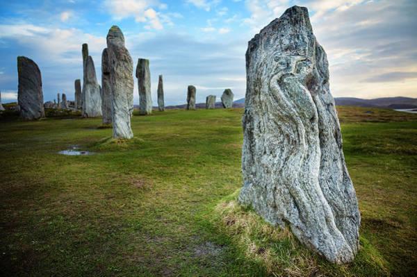 Prehistoric Era Wall Art - Photograph - Callanish Standing Stones, Isle Of Lewis by Theasis