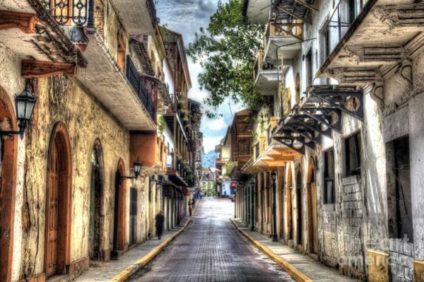 Panama Photograph - Calle 8a Este by Bob Hislop