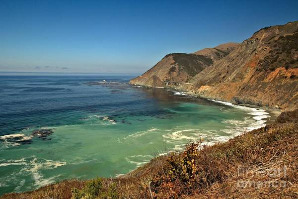 Photograph - Calm Along The Big Sur Coast by Adam Jewell