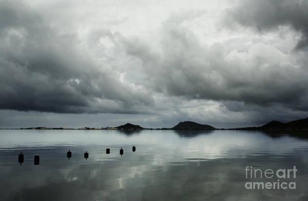 Photograph - Calm At Kaneohe Bay by Charmian Vistaunet