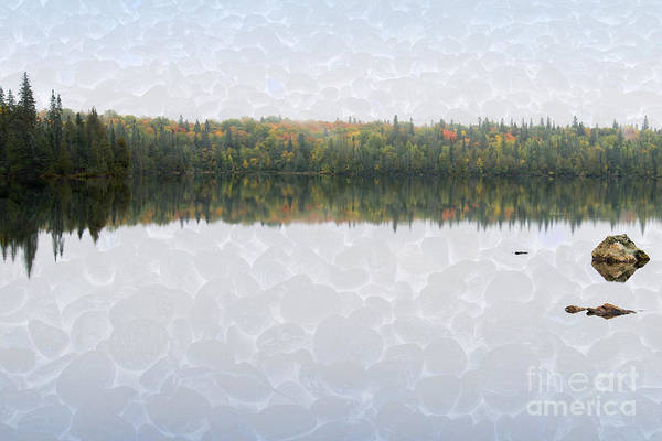 Photograph - Calm Lake On North Shore Of Lake Superior by Les Palenik