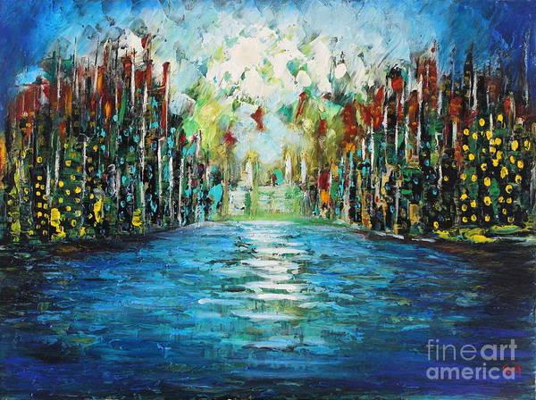 Painting - Calm  by Preethi Mathialagan