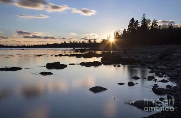 Photograph - Calm Sunset by Karin Pinkham