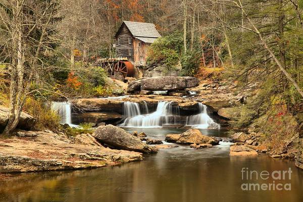 Photograph - Calm Waters At Glade Creek by Adam Jewell