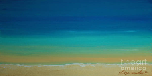 Painting - Calming Turquise Sea Part 2 Of 2 by Robyn Saunders