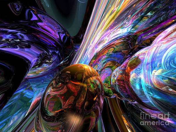 Fabulous Digital Art - Calming Madness Abstract by Alexander Butler