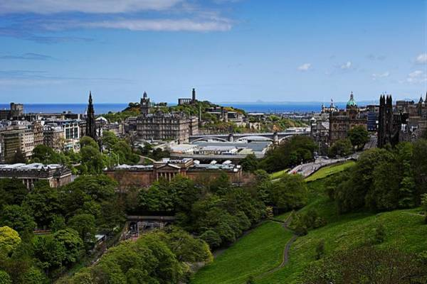 Photograph - Calton Hill by Mike Farslow