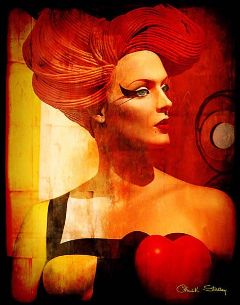Wall Art - Mixed Media - Calypso Mama by Chuck Staley