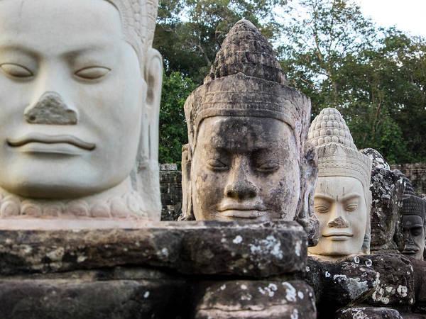 Wall Art - Photograph - Cambodia, Angkor Watt, Siem Reap by Terry Eggers