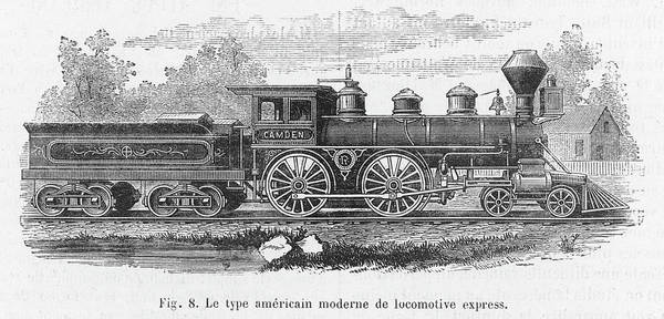 Steam Locomotive Drawings (Page #2 of 4) | Fine Art America