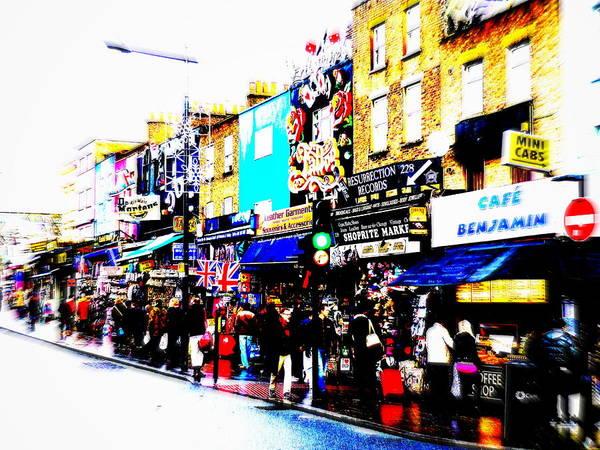 Wall Art - Photograph - Camden Town London  by Funkpix Photo Hunter