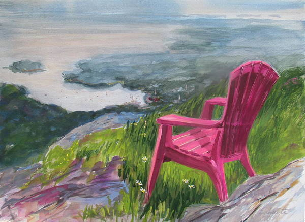 Adirondack Mountains Painting - Camden View by Lynne Schulte