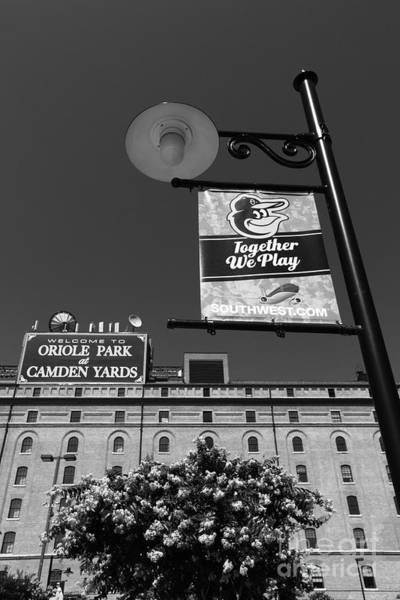 Photograph - Camden Yards Baltimore by James Brunker
