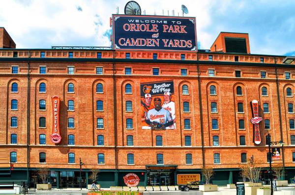 Camden Photograph - Camden Yards by Bill Cannon