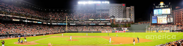 Baltimore Photograph - Camden Yards by Mike Baltzgar