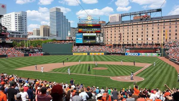 Warehouse Photograph - Camden Yards by Ross Ansel