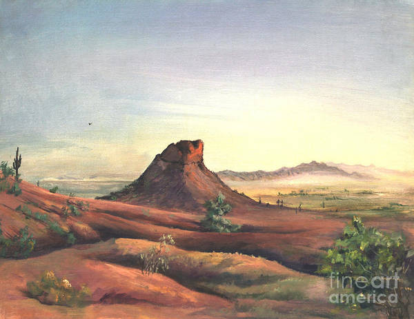 Painting - Camel Back Overlook by Art By Tolpo Collection
