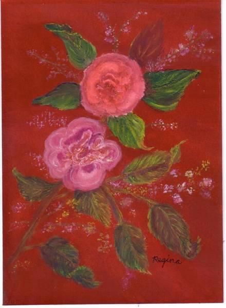 Painting - Camellia Duet by Regina Taormino