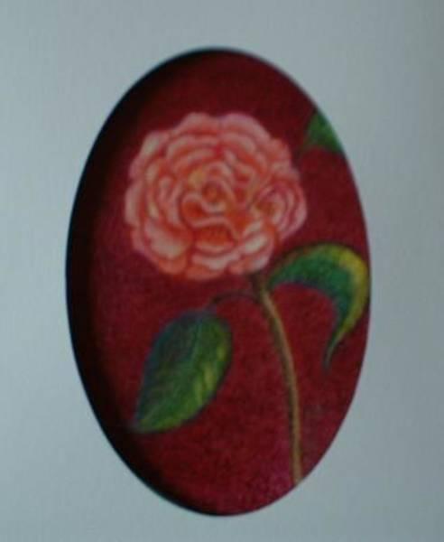 Drawing - Camellia Solo by Regina Taormino