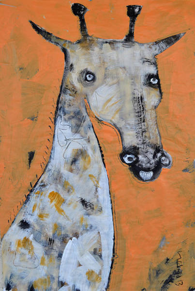Camel Painting - Camelopardus by Mark M  Mellon