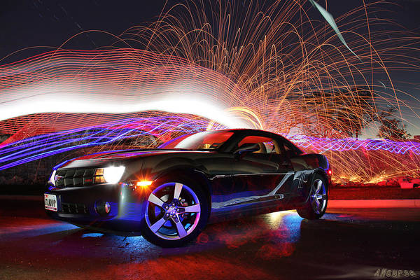 Wall Art - Photograph - Camero Rs by Andrew Nourse