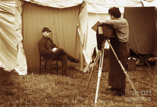Camp Photographer Art Print