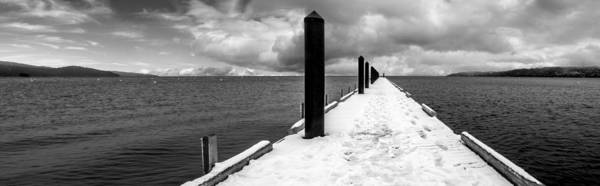 Footstep Wall Art - Photograph - Camp Richardson Pier by Brad Scott