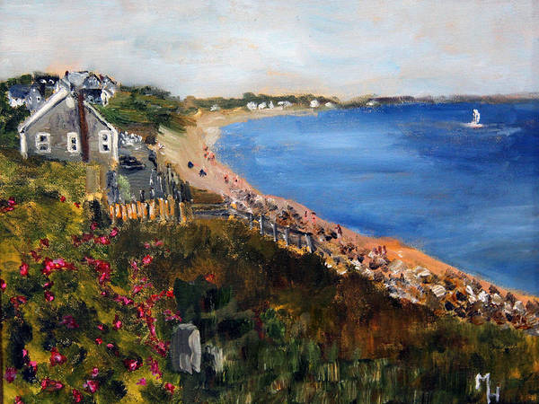 Campground Beach Eastham Art Print