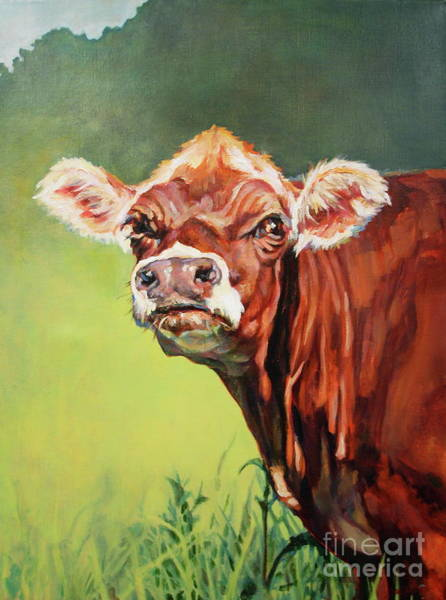 Painting - Camphill Gal by Patricia A Griffin